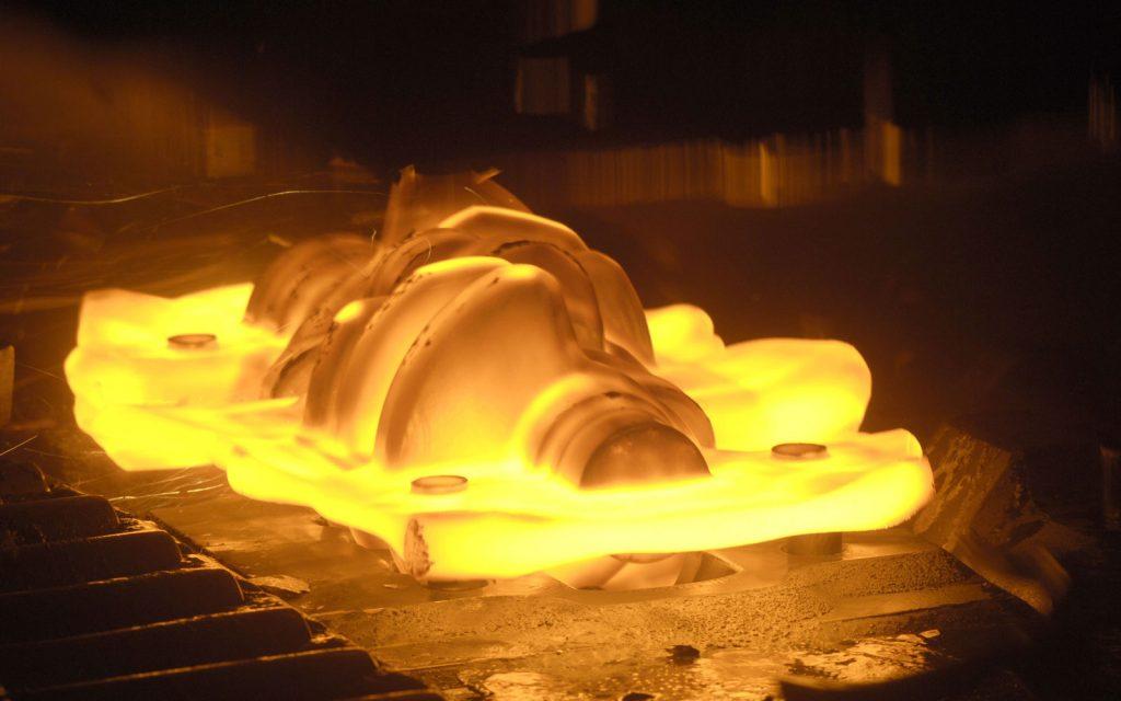 فورج گرم -شرکت ظفر صالح سبا - تولید انواع پیچ و مهره
